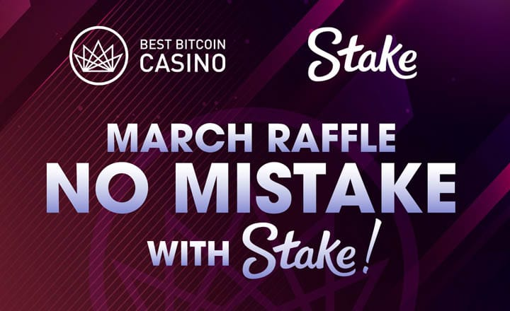 'No Mistake with Stake' Promo Launched for BestBitcoinCasino.com Readers
