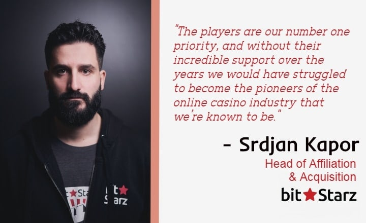 EXCLUSIVE INTERVIEW: BitStarz Continues Raising the Bar Across iGaming Industry