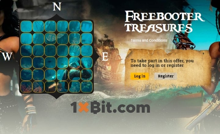 "Find Adventure and Bitcoins at 1xBit's ""Freebooter Treasure"" Tournament"