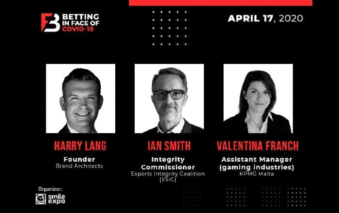 First Speakers at Betting in face of COVID-19 Europe: Experts in Marketing, Law and Consulting