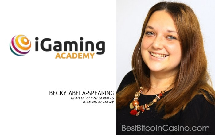 Interview with Becky Abela-Spearing, Head of Client Services at iGaming Academy