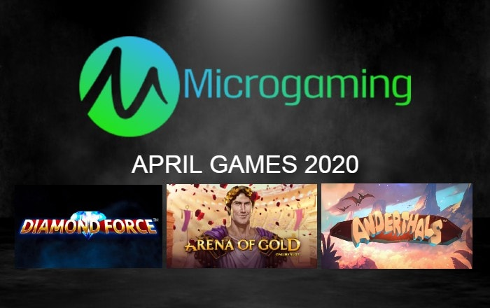 Microgaming Announces Newest Online Slots for April
