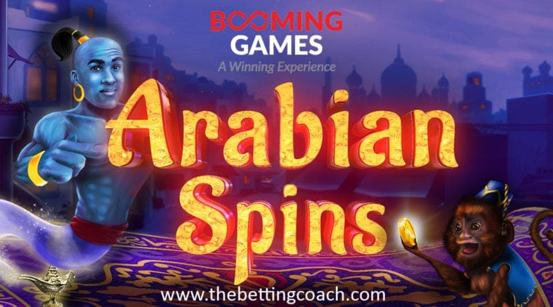 Technology and Fun Meet in Arabian Spins, the New Game of Booming Games