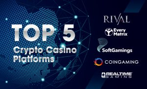 Top 5 Crypto Casino Platforms in the Market