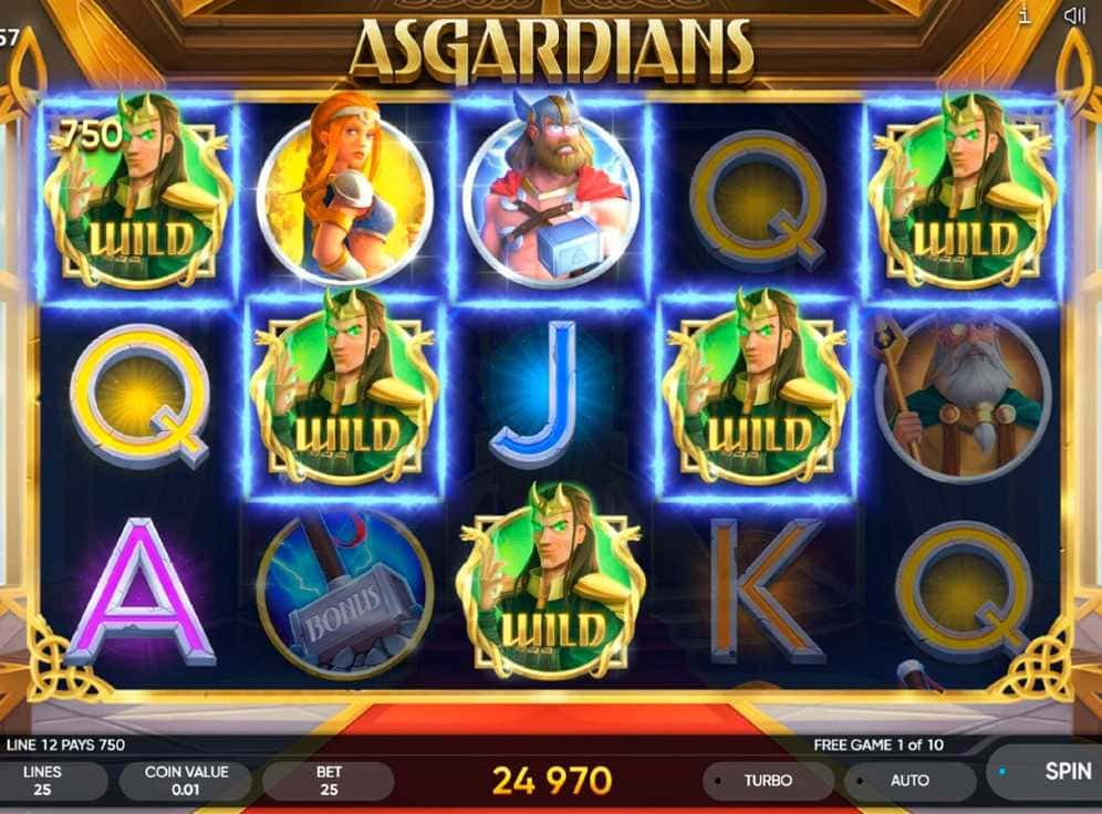 Asgardians Slot #1