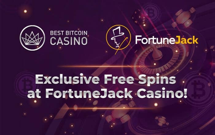 Fortune Jack with an exclusive promo for you!