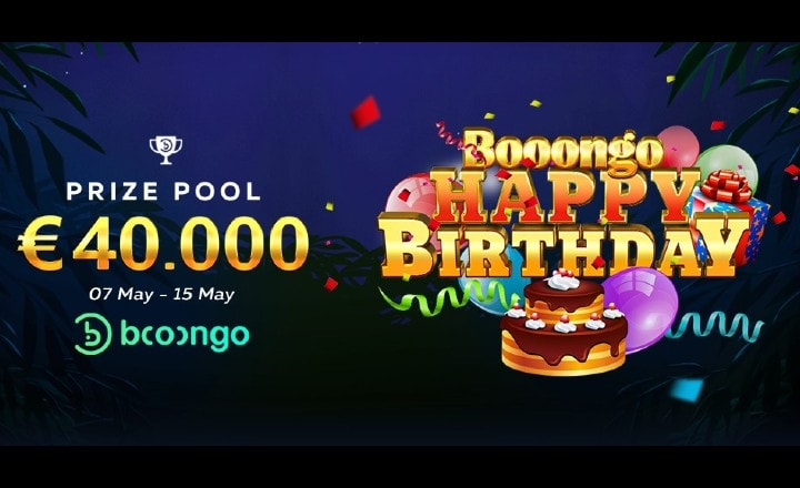 FortuneJack Boongo Happy Birthday Promotion!
