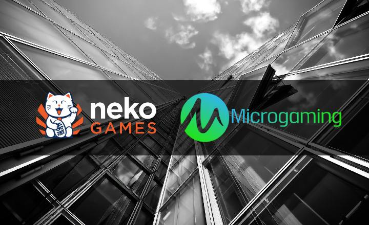 Neko Games Signs a Distribution Agreement with Microgaming