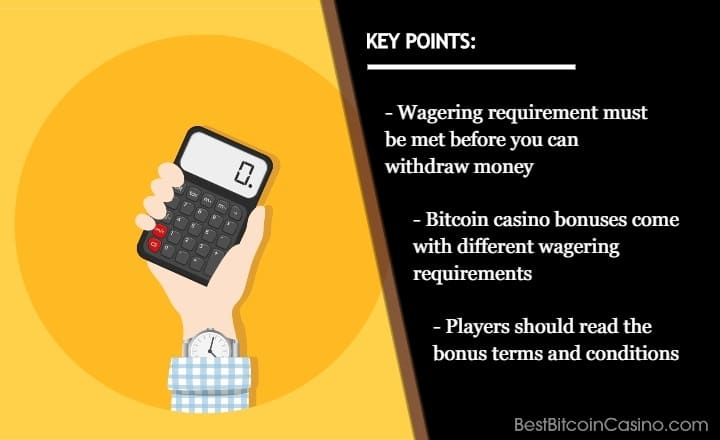 Wagering Requirements Explained: What You Need to Know Before Claiming Bitcoin Casino Bonuses