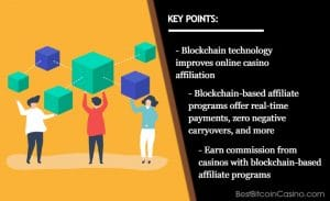 Why Blockchain-Based Affiliate Program Is Better for the iGaming Industry