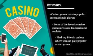 Exciting Casino Games You Can Play in Bitcoin Casinos