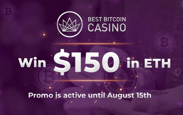 We give you 150$ as a real money prize – to use as it pleases you!