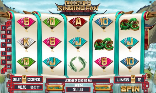 Legend of Singing Fan Slot