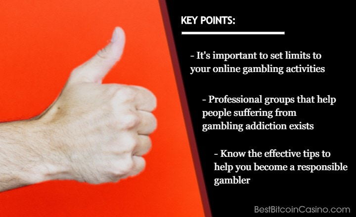 Responsible Gambling: What Bitcoin Casino Players Need to Know