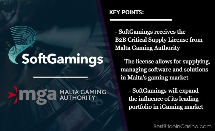 SoftGamings Joins the Big League With Malta Gaming Authority License