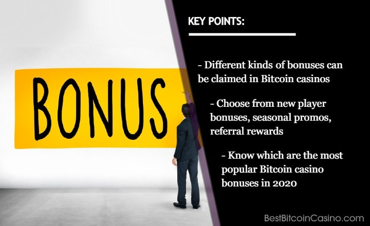 Bitcoin Casino Bonuses You Should Get in 2020