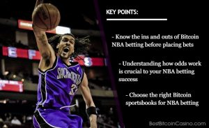 What You Must Know Before You Bet on NBA With Bitcoin