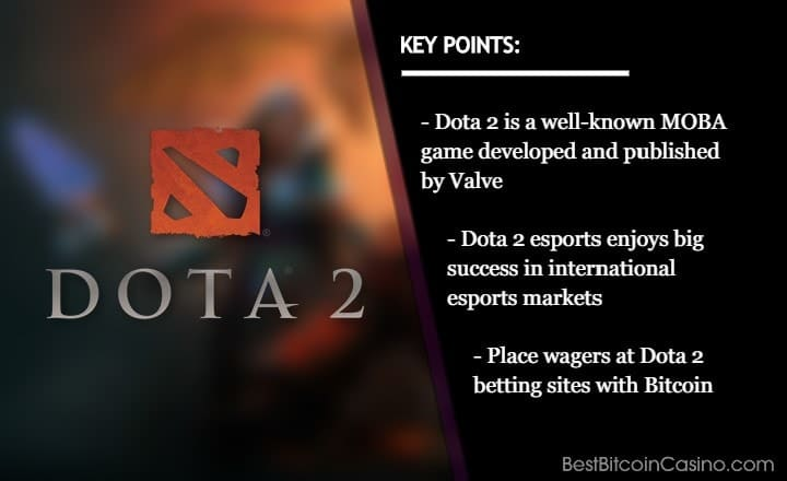 Where Can You Bet on Dota 2 with Bitcoin?