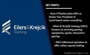 Eilers & Krejcik Gaming Expands Consulting Services With Addition of Ross O'Hanley