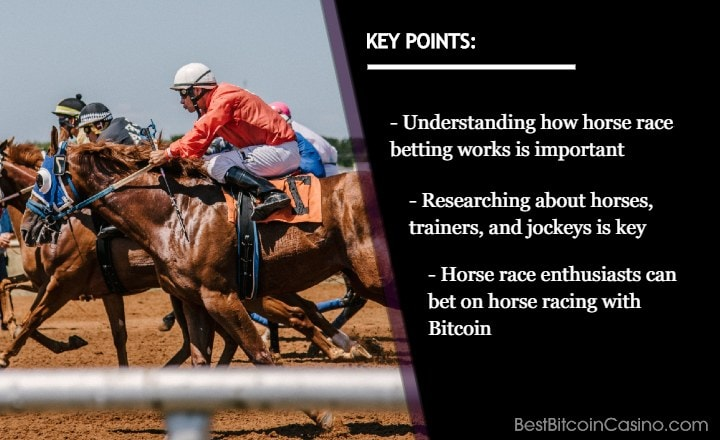 Horse Race Betting Tips and Strategies to Win Bitcoin