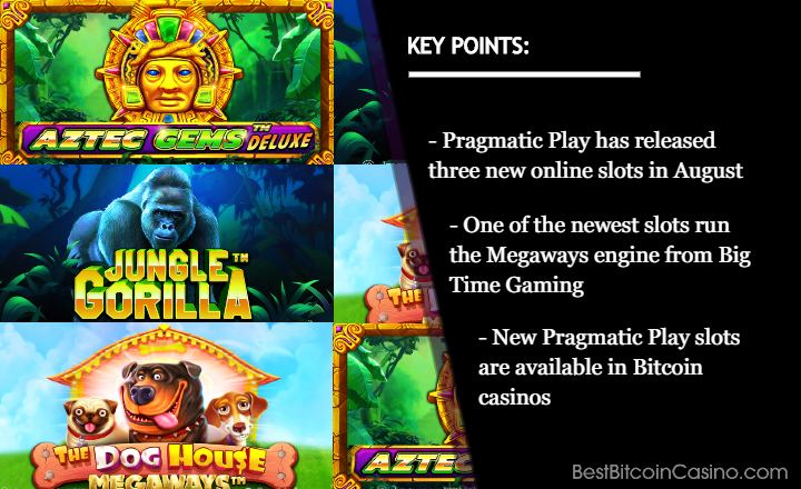Pragmatic Play Releases a Trio of New Slots This Month