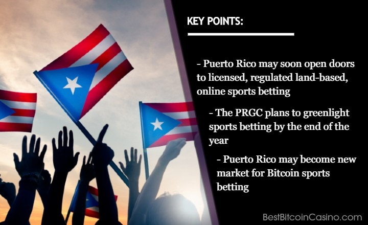 Puerto Rico Could Soon Say Hello to Bitcoin Sports Betting