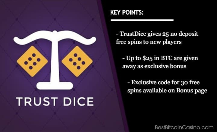 Find Out How to Get Your 3 Exclusive Bonuses from TrustDice
