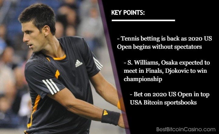 Top 5 USA Bitcoin Sportsbooks for 2020 US Open Betting