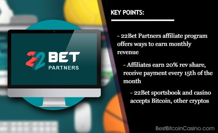 How to Make Money With 22Bet Partners