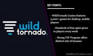 5 Reasons Why You Should Play at WildTornado Casino