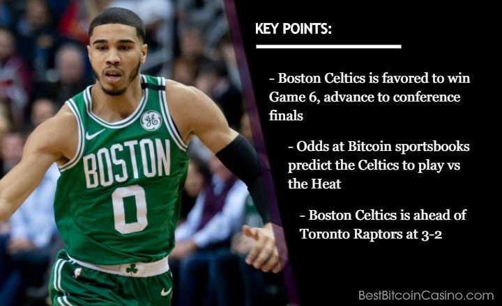 Odds: Boston Celtics Will Win Series With 4-2 Record