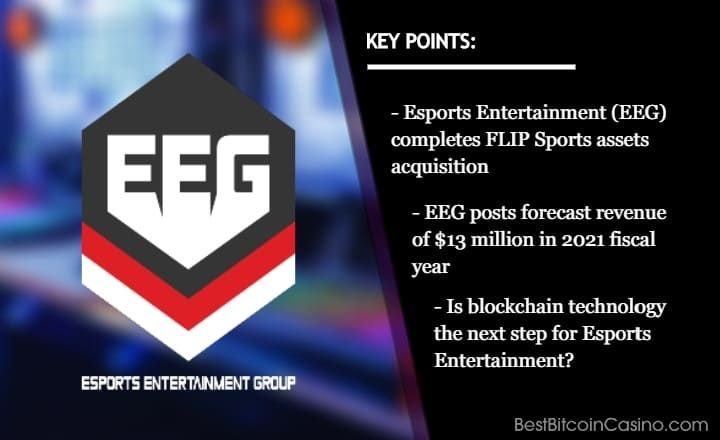 Esports Entertainment Acquires FLIP Sports Assets, What's Next?