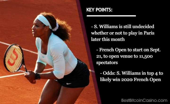 French Open 2020: Don't Bet on Serena Williams Just Yet