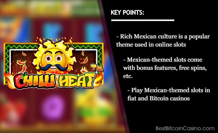 Top 10 Mexican-Themed Slots You Can Play with Bitcoin