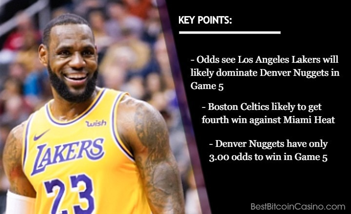 NBA Conference Finals: Game 5 Odds at Bitcoin Sportsbooks