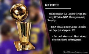 NBA Finals 2020 Odds: Los Angeles Lakers Will Beat Miami Heat