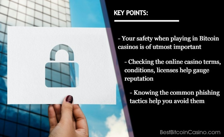 How to Stay Safe When Playing in Bitcoin Casinos