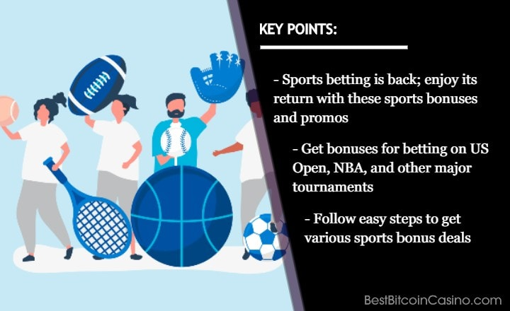 These Sports Bonuses Are Perfect for Sports Betting