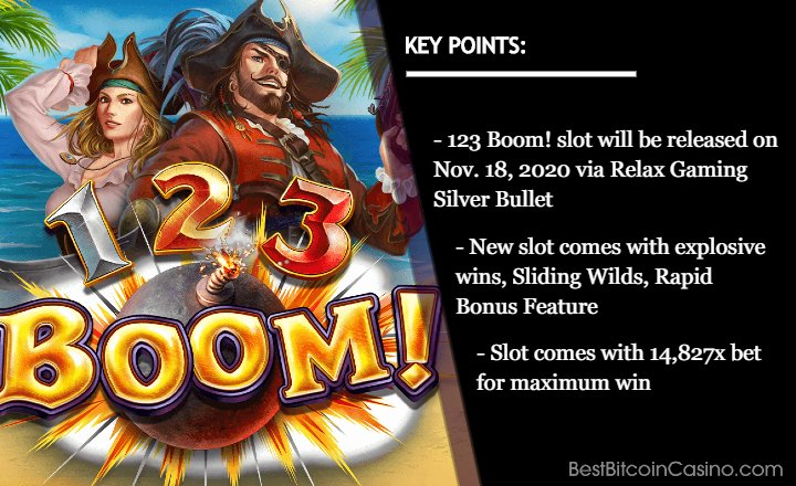 123 Boom! Slot Ready to Set Sail for Explosive Wild Wins