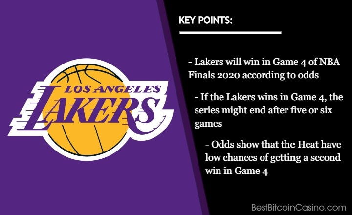 NBA Finals 2020 Game 4 Odds: Lakers Will Take 3rd Win