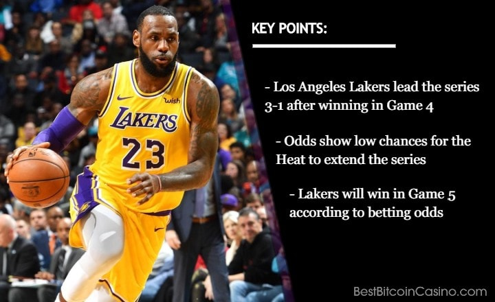 NBA Finals 2020 Game 5 Odds: Lakers Will Be Champion