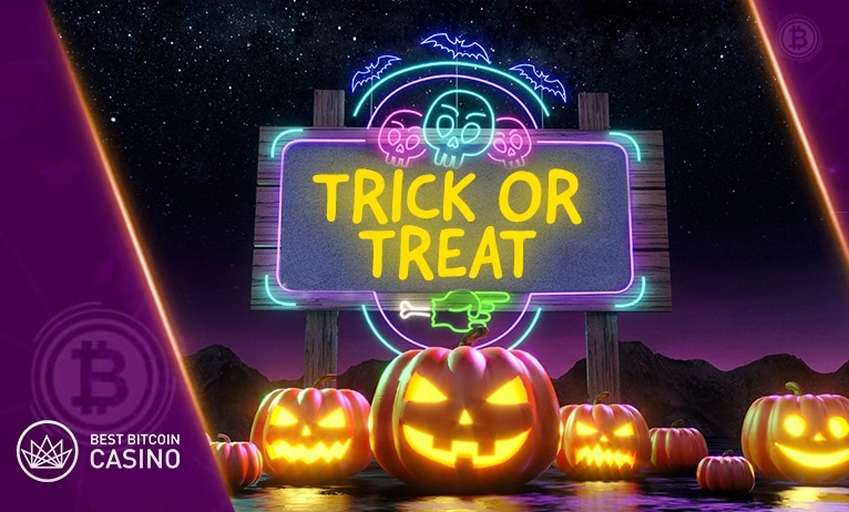Trick or Treat! We got you bonuses and prizes this Halloween