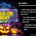 Get Spooked Out With Amazing Halloween Promos at Bitcoin Casinos