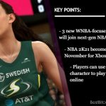More Esports Options: New WNBA Game Modes Join NBA 2K21