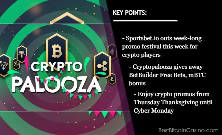 Sportsbet.io Gives Crypto More Love With Week-Long Cryptopalooza Promo Festival