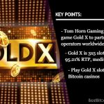 Experience Glamor with Tom Horn's New Game Gold X