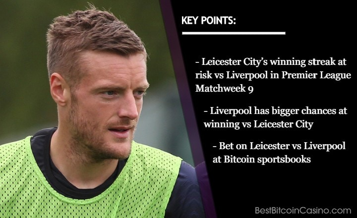 Leicester on Top; Likely to Lose to Liverpool, Odds Say