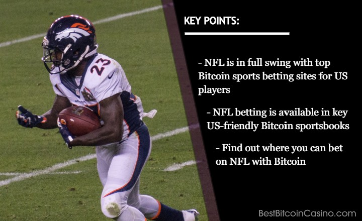 Top 5 USA Bitcoin Sports Betting Sites for NFL Betting