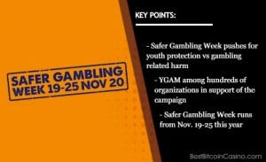 Safer Gambling Week: Youth Must Be Protected From Gambling-Related Harm