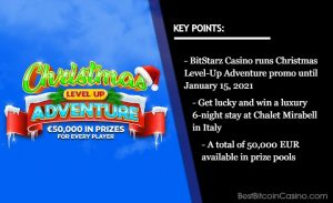 Celebrate Christmas All Month Long at BitStarz Casino